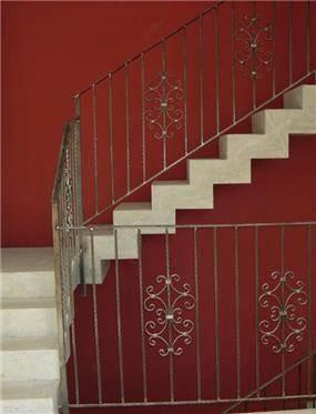 חדר מדרגות - הילה קרן-שטיינמץ אדריכלות ועיצוב פנים