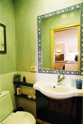 חדר שירותים - הילה קרן-שטיינמץ אדריכלות ועיצוב פנים