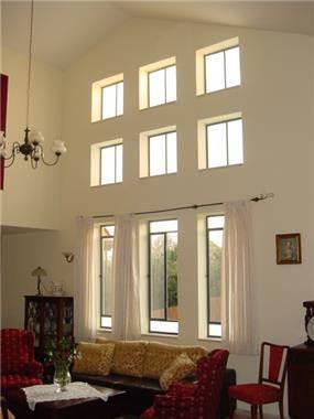 סלון, בית פרטי - מיכאל לובוביקוב - אדריכל ומעצב פנים