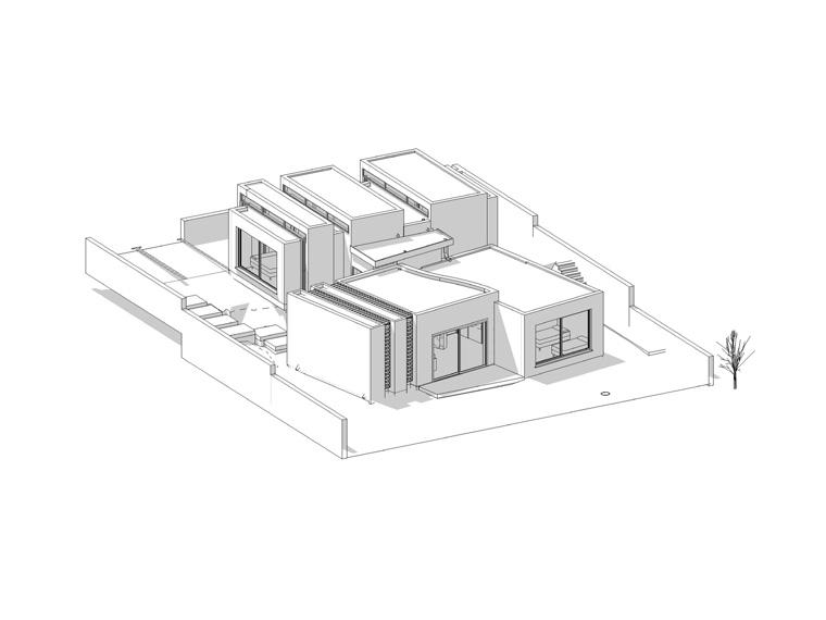 בית פרטי- הדמיה ממוחשבת - עז אדריכלות