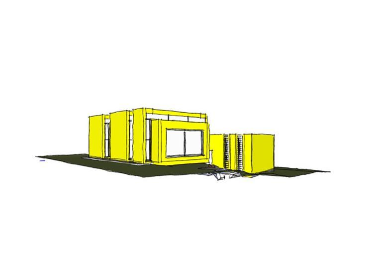 בית פרטי, סקיצה - עז אדריכלות