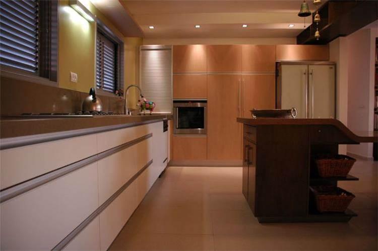 דירת גג, רעננה, מטבח - תים אדריכלים