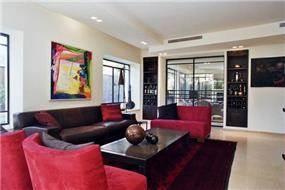 בית פרטי, סלון, תל אביב - ECA איתן כרמל אדריכלים