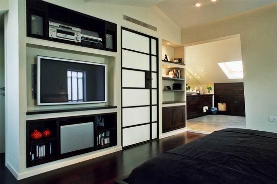 בית פרטי, חדר שינה, רמת אביב - ECA איתן כרמל אדריכלים