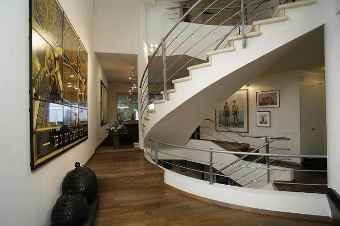 בית פרטי, חדר מדרגות, רמת השרון - ECA איתן כרמל אדריכלים