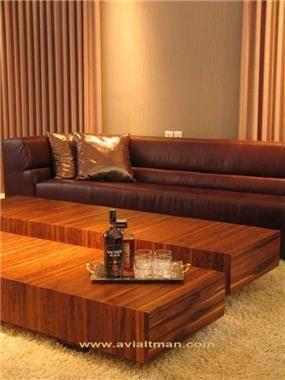 חדר אורחים מפואר - י. אלטמן עיצוב ותכנון פנים