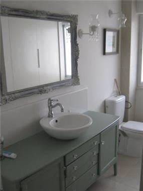 חדר אמבטיה ושירותים, דירה, הרצליה - שלי דותן אדריכלות ועיצוב פנים