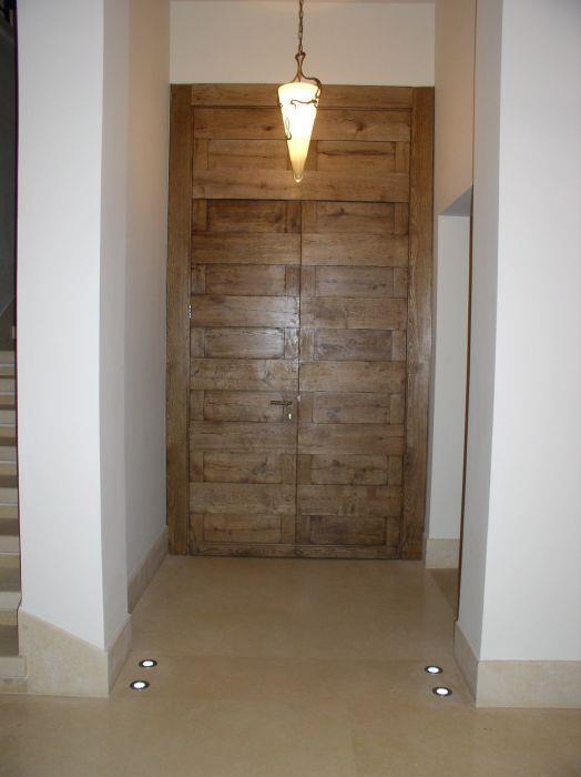 דלת כניסה - מירי פורת עיצוב פנים