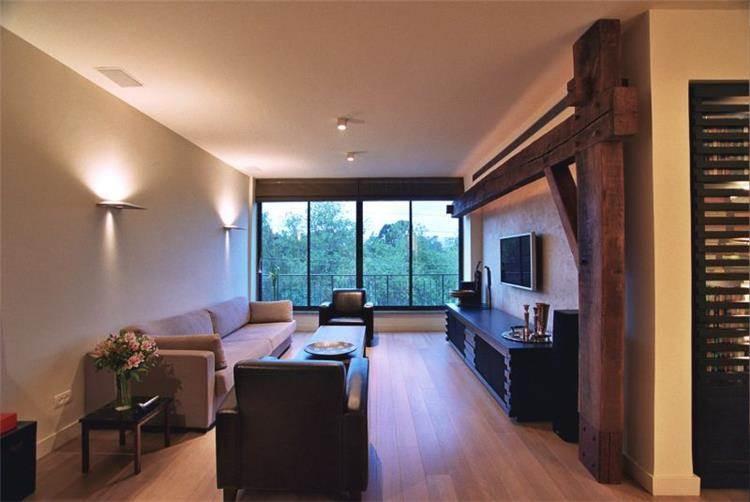סלון, דירה בצפון תל אביב - מירי פורת עיצוב פנים
