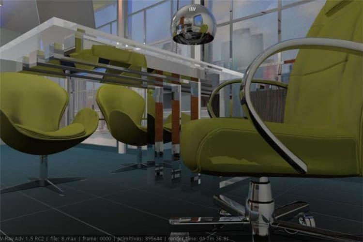 תכנון שולחן נירוסטה למשרד ביתי - אבן פינה