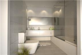 חדר אמבטיה בעיצוב איילת ולנסי