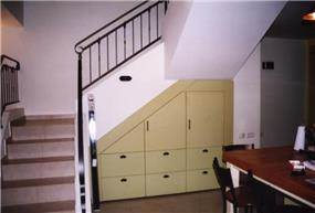 אחסון וחדר מדרגות - מירי שילה - אדריכלות פנים