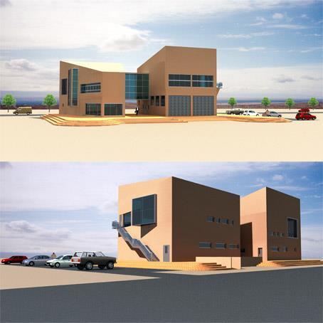 מועדון גלישה ומסעדה מפוארת, פולג, נתניה - Architecture desing