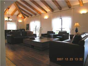 חדר המגורים - דורית אשל - תכנון ועיצוב פנים
