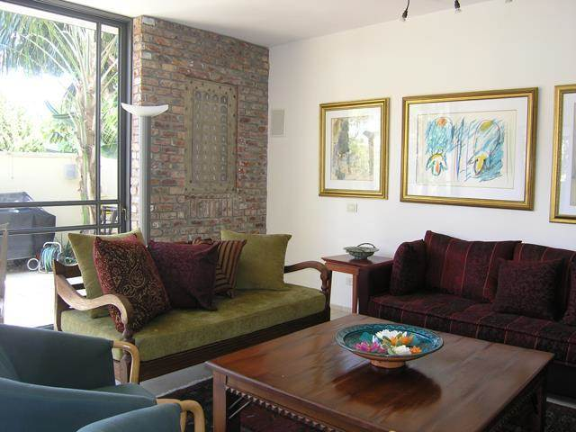 חדר מגורים, וילה בהרצליה - ענת קרומר אדריכלות ועיצוב פנים