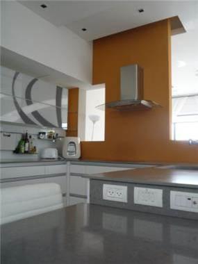 עיצוב מטבח בקו נקי, אילנה משלזון אדריכלים