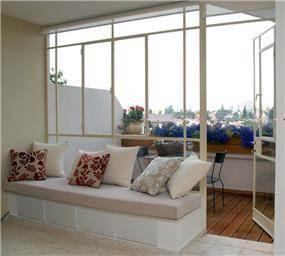 מרפסת - בתים - סטודיו לאדריכלות ועיצוב פנים