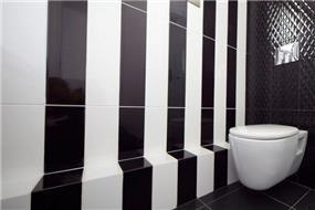 חדר אמבטיה לילדים בעיצוב מודרני של אורית סנדר