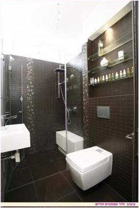 חדר אמבטיה הורים - אורית עיצובים