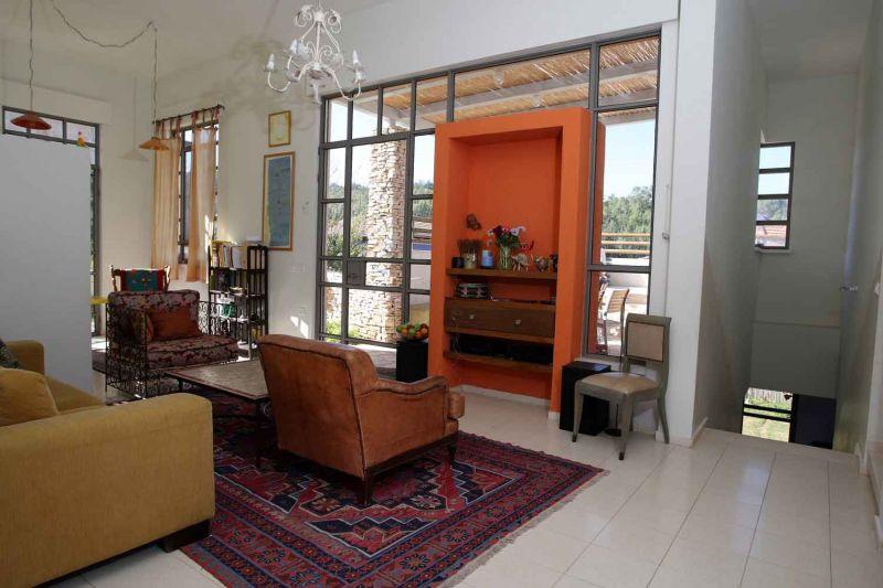 חלל מגורים - יבגי - סיטון אדריכלים