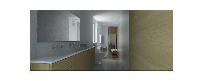 חדר אמבטיה - זוג אדריכלים