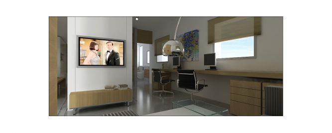 חדר עבודה - זוג אדריכלים