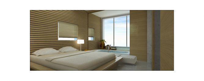חדר שינה - זוג אדריכלים