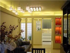 סלון ומטבח - ריקי גרוזמן ומיכל גלובן- אדריכלות ועיצוב פנים
