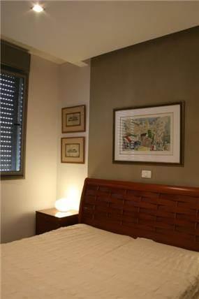 חדר שינה - אפולוניה אדריכלות תכנון ועיצוב.