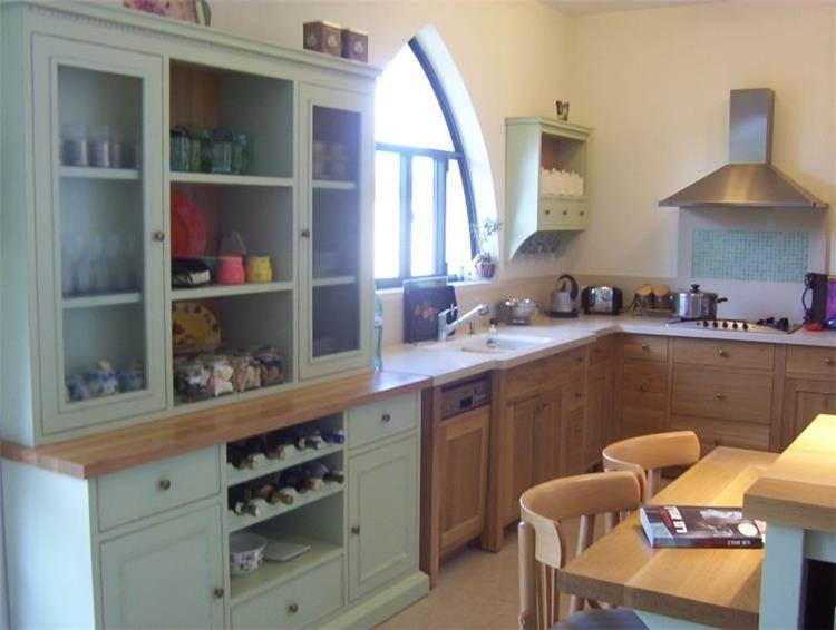 מטבח כפרי - אפולוניה אדריכלות תכנון ועיצוב