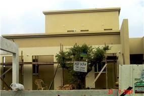 חזית בית בבניה - צביה דגני עיצוב ותכנון