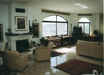 חדר מגורים - משה כנף, אדריכלות ועיצוב פנים