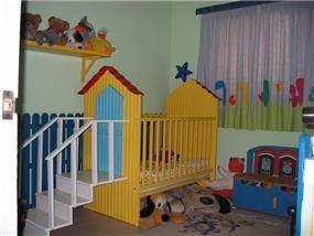 חדר תינוקות - נורית לבונה-מעצבת פנים