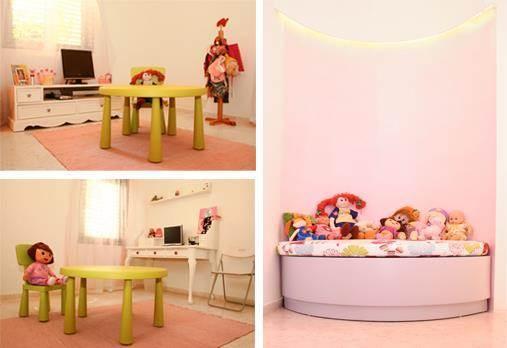 חדר לילדה - אורית אופיר