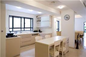 מטבח, וילה, תל אביב - ברעוז מיטל-עיצוב ותכנון אדריכלי