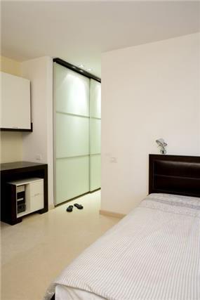 חדר שינה, וילה, תל אביב - ברעוז מיטל-עיצוב ותכנון אדריכלי