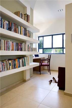 חדר עבודה, תל אביב - ברעוז מיטל-עיצוב ותכנון אדריכלי