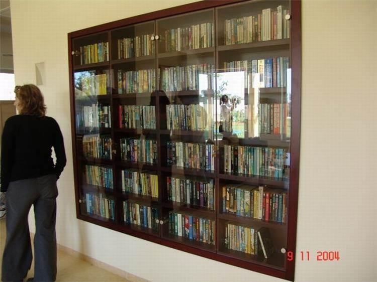 ספרייה - אמיר פלג - סטודיו לעיצוב פנים