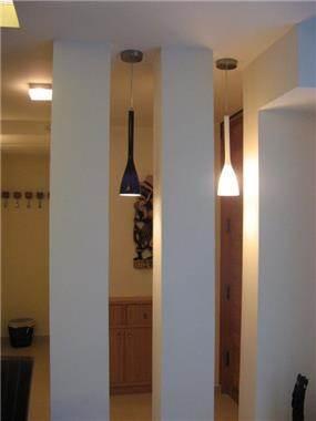 שיפוץ בית בשרון - 2 - מבט למבואת כניסה