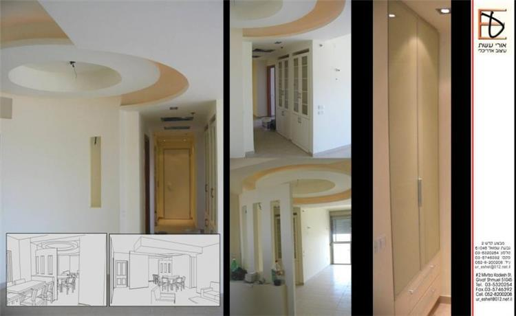 עיצוב פנים, דירה, תל אביב - אורי עשת עיצוב אדריכלי