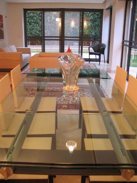 סלון ופינת אוכל, בית פרטי, רעננה - אורי עשת עיצוב אדריכלי