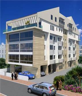"""תוספת לבנין מגורים לפי תמ""""א 38 - נדין לומלסקי-אדריכלות ועיצוב"""