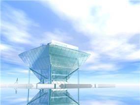 תכנון לצימר עם קונסטרוקצית במבוק - Geotectura