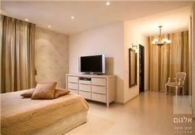 חדר שינה רגוע - יעל אלגום - משרד לתכנון ועיצוב אדריכלי
