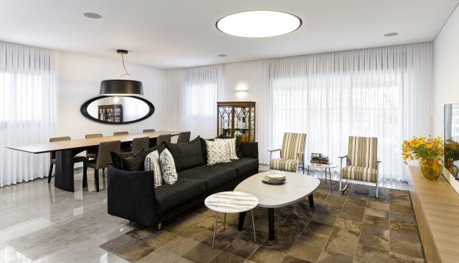שיפוץ דירת קבלן בשמורת הארגמן נס ציונה - רונית גולדפריד / עיצוב ואדריכלות פנים