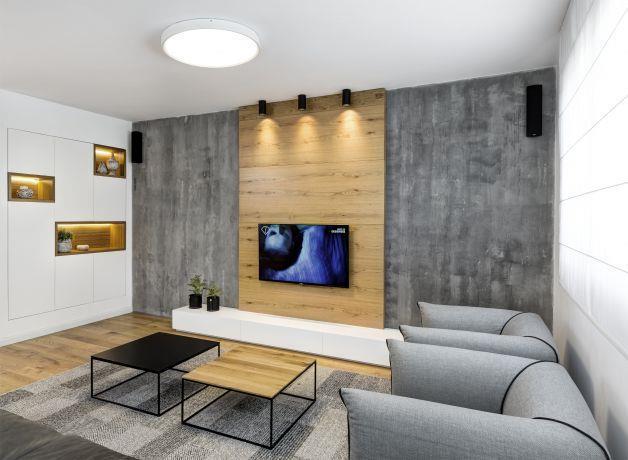 עיצוב חלל מגורים בדופלקס פנטהאוז ברעננה - רונית גולדפריד / עיצוב ואדריכלות פנים