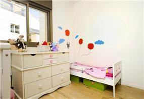 חדר ילדים בעיצוב לילך לויט