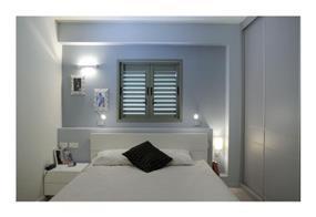 חדר שינה מודרני בשילוב תאורה מיוחדת בעיצוב ותכנון של לילך לויט
