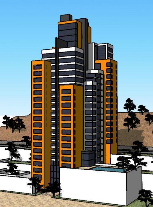 מגדל מגורים בכרמל המערבי