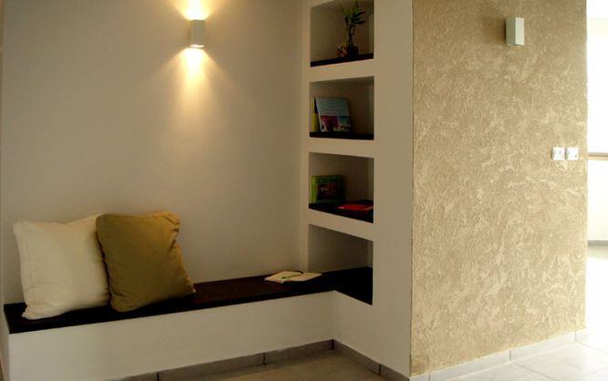 מבואה בדירה ראשון לציון. עיצוב סטודיו פרטים